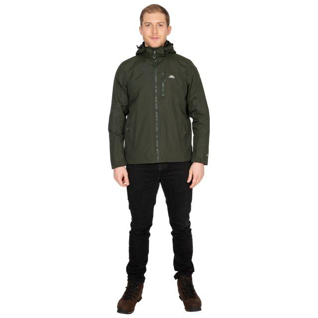 Hamrand Men's Waterproof Jacket in Khaki