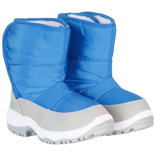 Trespass Kids Snow Boots Fleece Lined Water Resistant Hayden