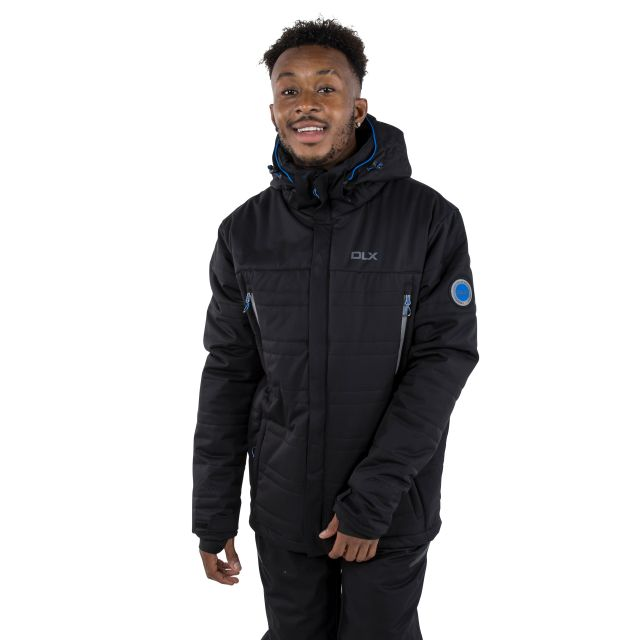 Hayes Men's DLX Waterproof Ski Jacket in Black