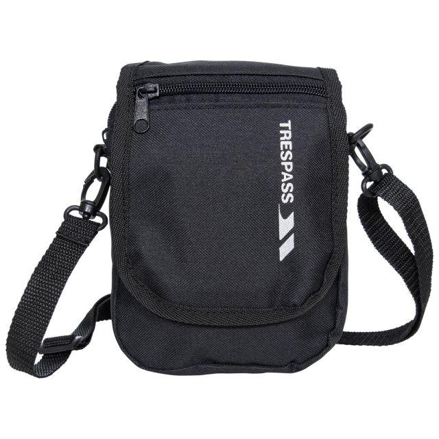 HELICON 1 Litre Travel Shoulder Bag in Black, Back view