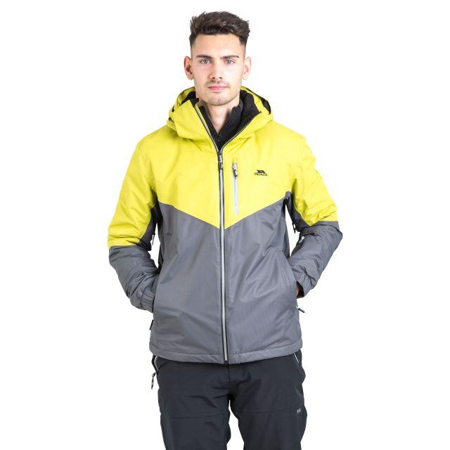 Hidey Men's Waterproof Ski Jacket  in Grey
