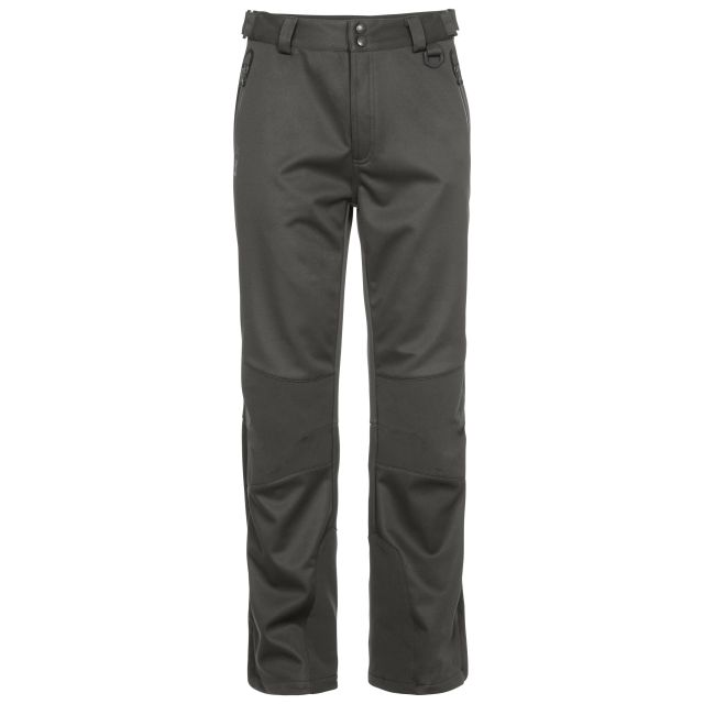 Holloway Men's DLX Walking Trousers in Khaki, Front view on mannequin