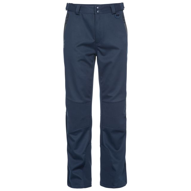 Holloway Men's DLX Walking Trousers in Navy, Front view on mannequin