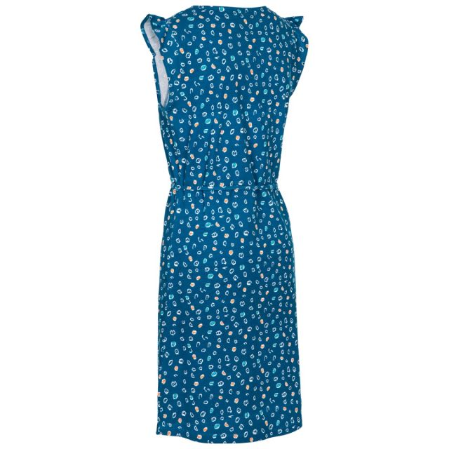 Holly Women's Short Sleeve Dress in Blue