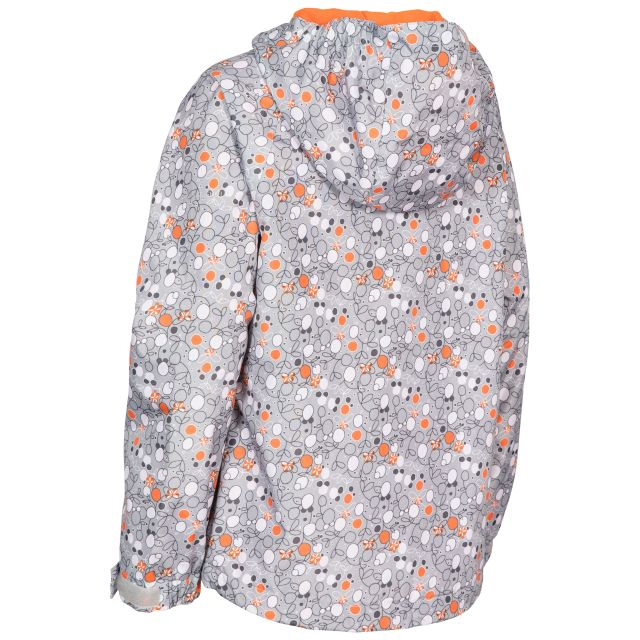 Trespass Girls Waterproof Jacket in Grey Hopeful