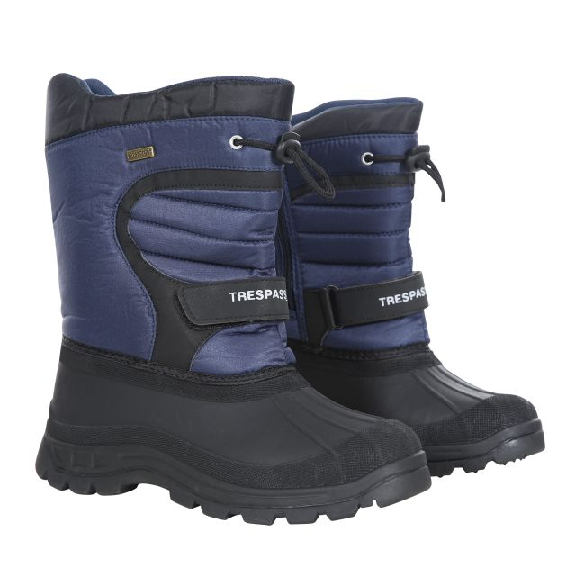 Huskie Youths' Snow Boots in Navy, Pair of footwear