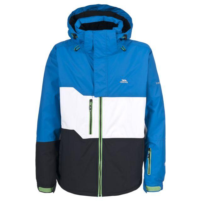Johann Mens Blue Snow Jacket in Blue