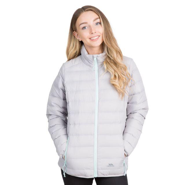 Trespass Womens Packaway Jacket  Lightweight Julianna in Grey