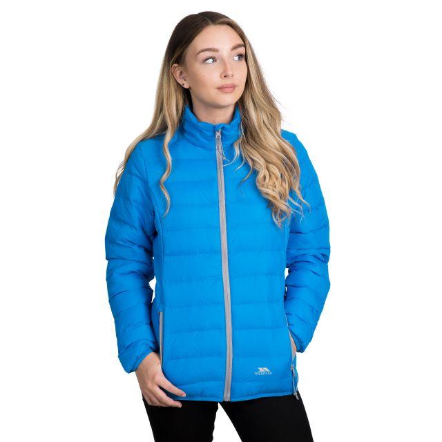 Trespass Womens Packaway Jacket  Lightweight Julianna in Blue