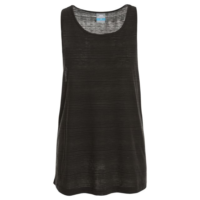 Kaylee Women's Sleeveless Active T-shirt in Black