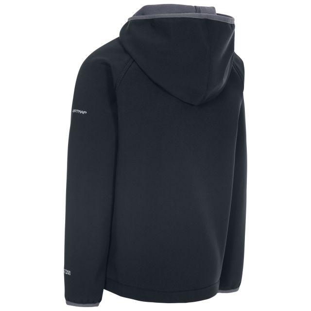Kian Kids' Softshell Jacket in Black