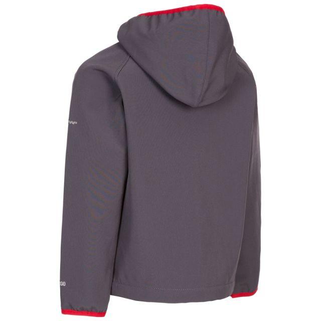Trespass Kids' Unisex Softshell Jacket Kian Carbon