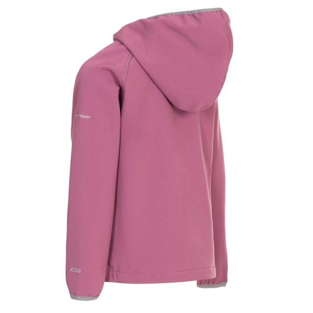 Kian Kids' Softshell Jacket in Purple