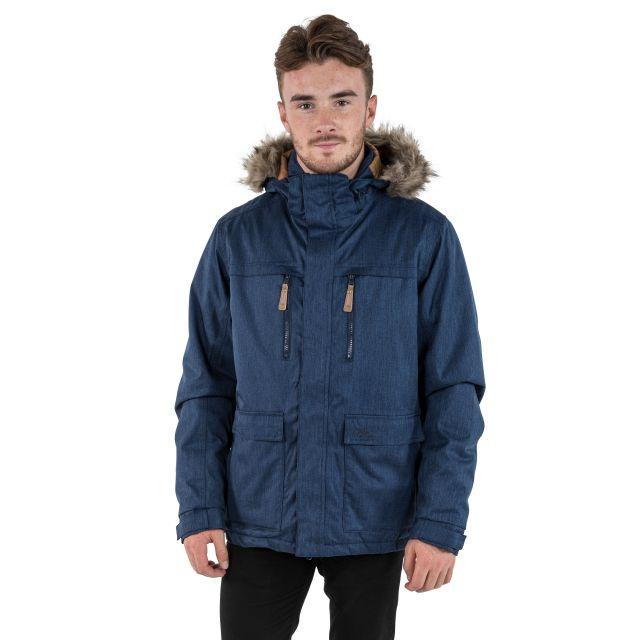 King Peak Men's Insulated Waterproof Windproof Jacket in Navy