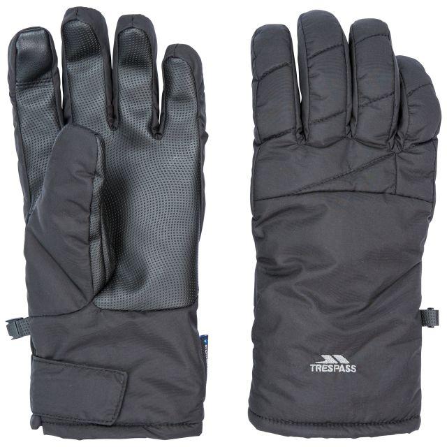 Trespass Adults Waterproof Gloves in Black Kulfon