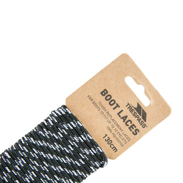 Walking Boot Laces 130cm in Black