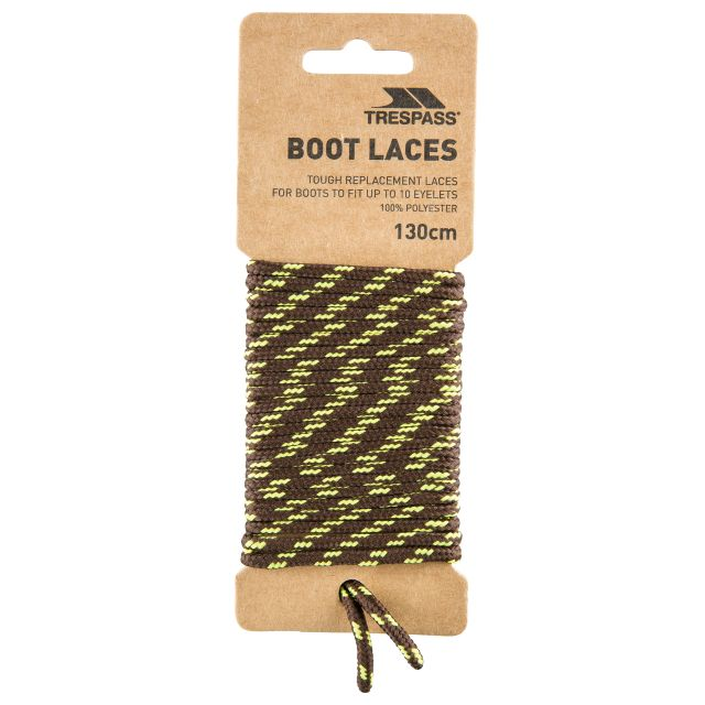 Walking Boot Laces 130cm in Brown