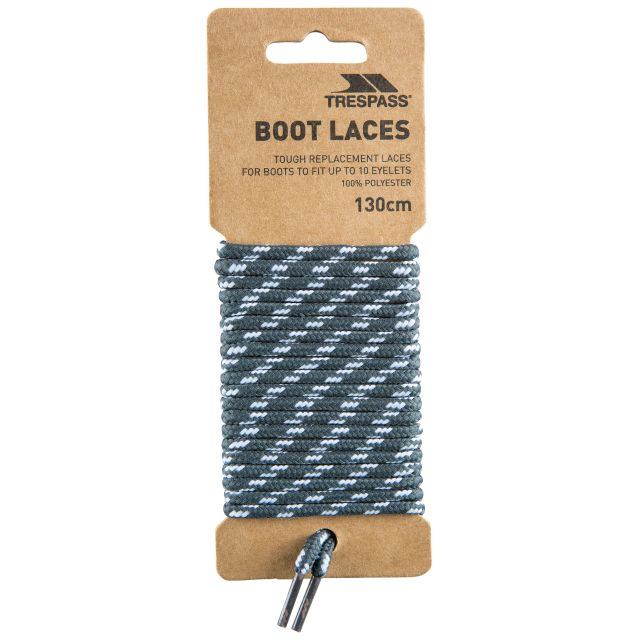 Walking Boot Laces 130cm in Grey