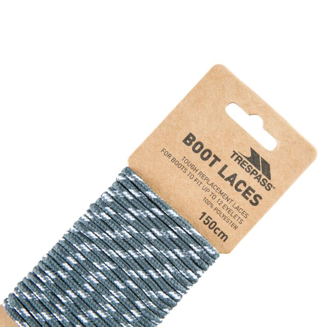 Tough Walking Boot Laces 150cm in Grey