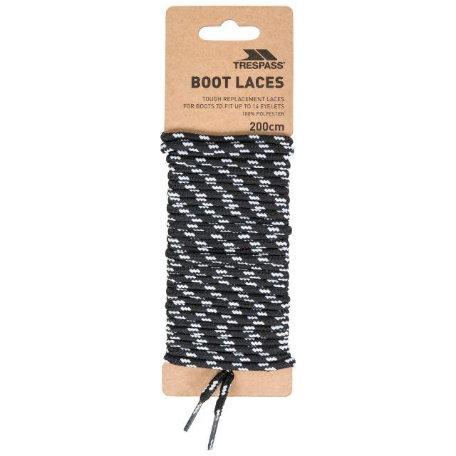 Laces 200 - Round Laces 200cm in Black
