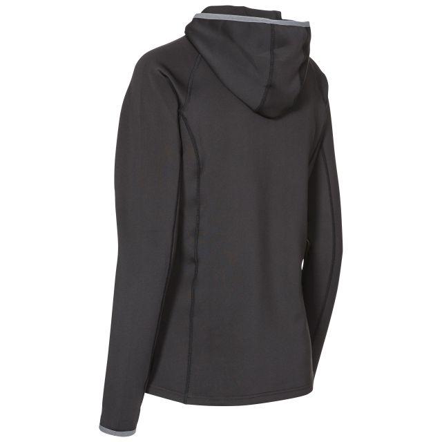 Lalita Women's Quick Dry Active Hoodie in Black