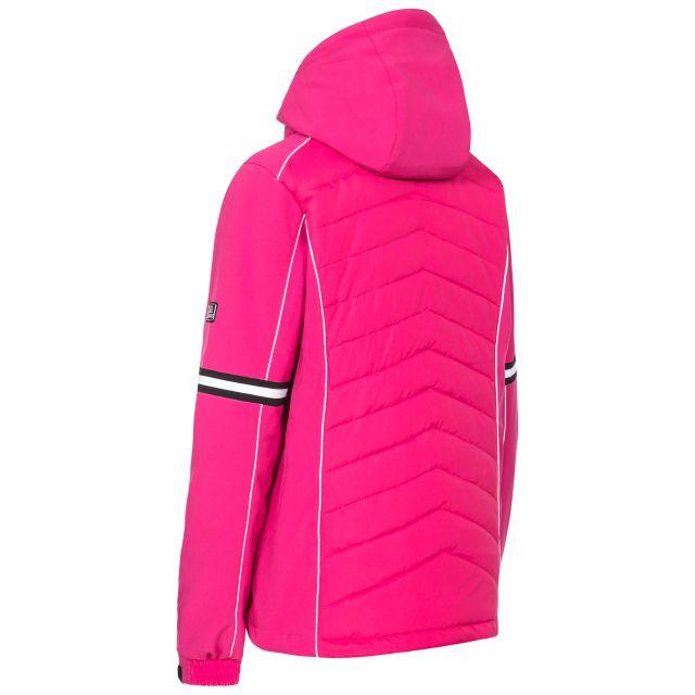 Trespass Womens Ski Jacket Windproof Larne in Pink
