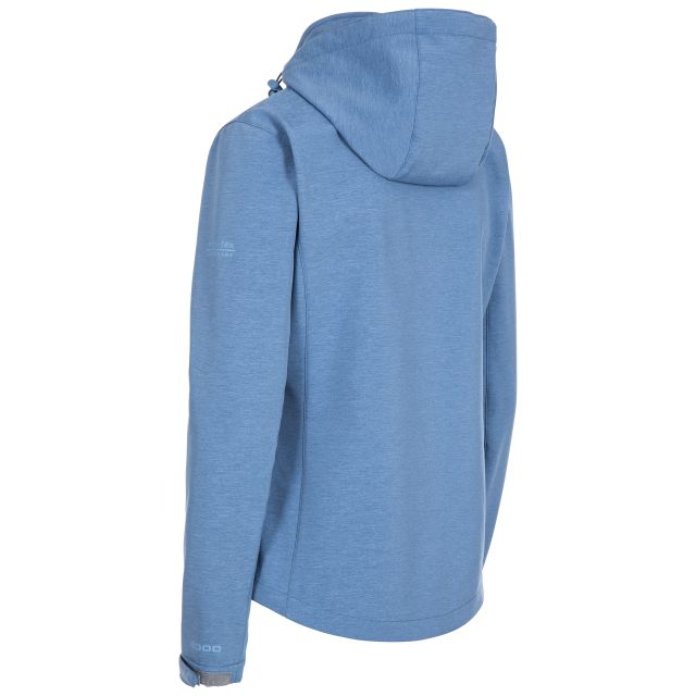 Trespass Womens Softshell Jacket Leah in Light Blue