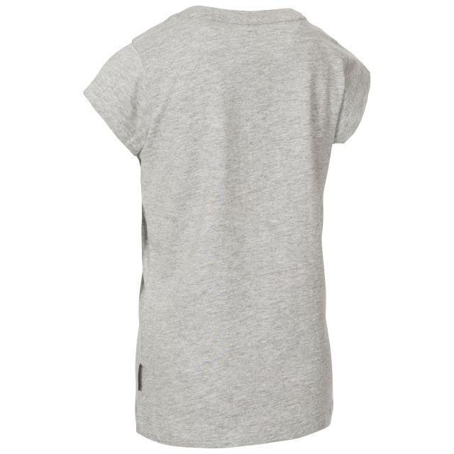 Trespass Kids Printed T-Shirt in Light Grey Leia