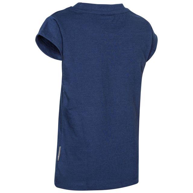Trespass Kids Printed T-Shirt in Navy Leia