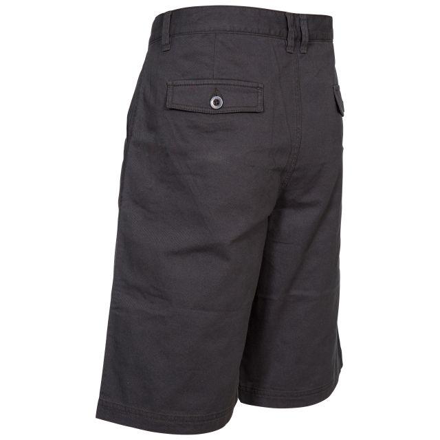 Leominster Men's Cotton Shorts in Grey