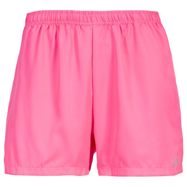 Lil Women's Quick Dry Track Shorts in Pink