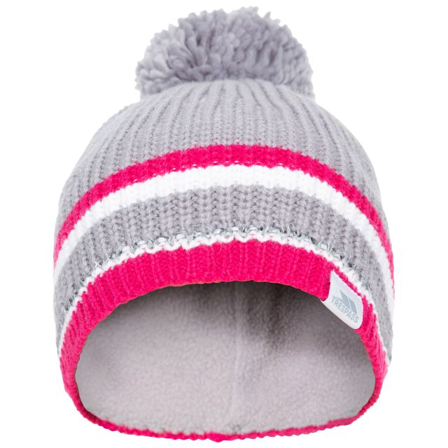 Lit Kids' Bobble Hat in Grey