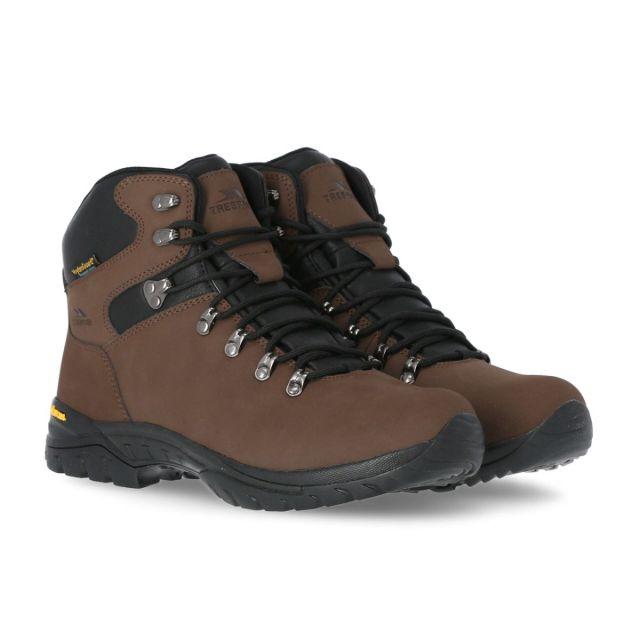 Lochlyn Men's Vibram Walking Boots in Brown