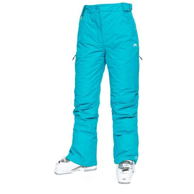 Lohan Women's Waterproof Ski Trousers - MAE, Front view on model