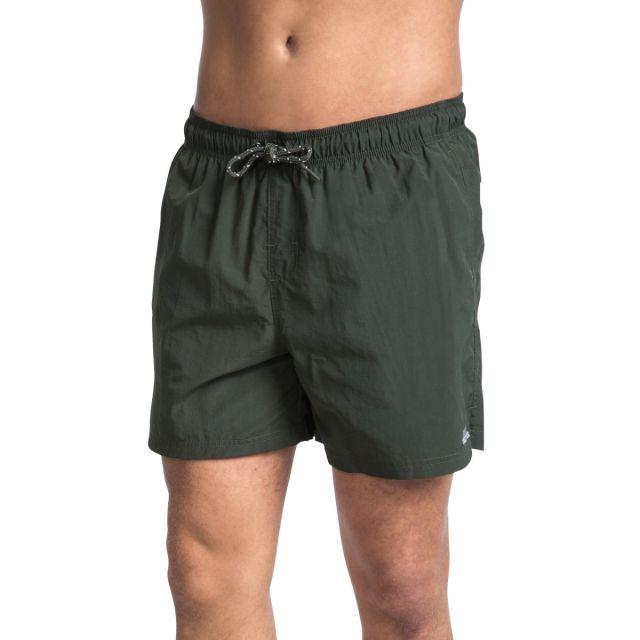 Luena Men's Casual Swim Shorts in Khaki