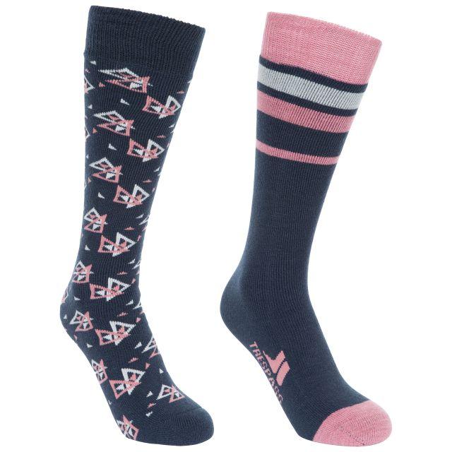 Luv Women's Tube Socks - 2 Pack in Navy