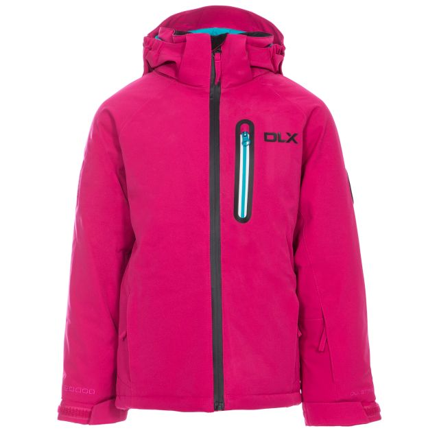 Luwin Kids' DLX RECCO Ski Jacket in Pink