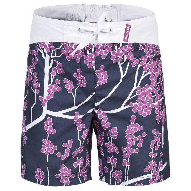 Trespass Kids Swim Shorts in Navy Mabel