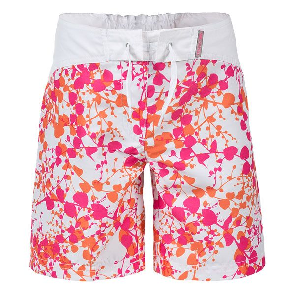 Mabel Kids' Swim Shorts in Assorted, Front view on mannequin