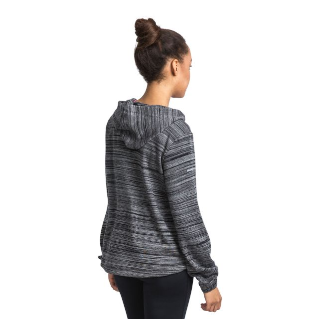 Mair Women's Quick Dry Active Hoodie in Light Grey