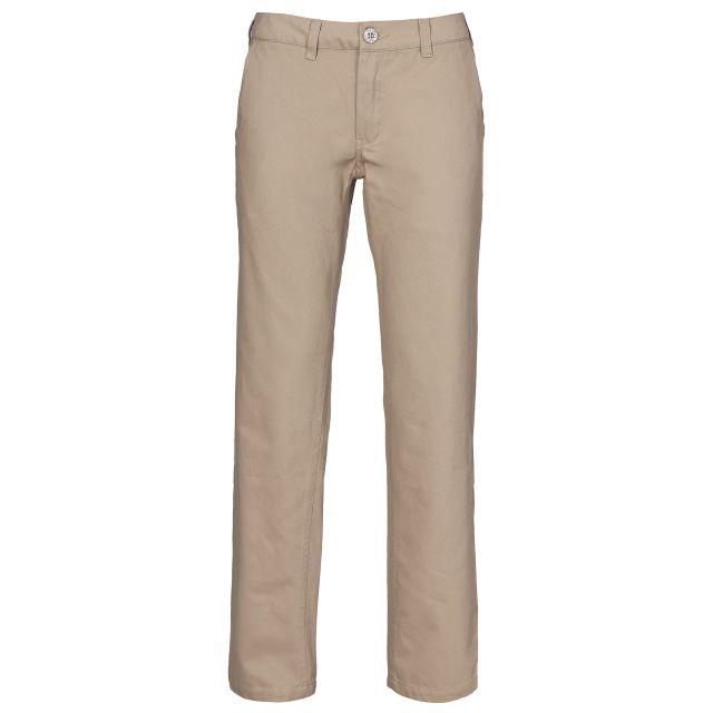 Makena Women's Casual Chino Trousers in Beige