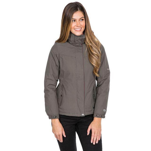 Trespass Womens Waterproof Jacket Malissa in Khaki