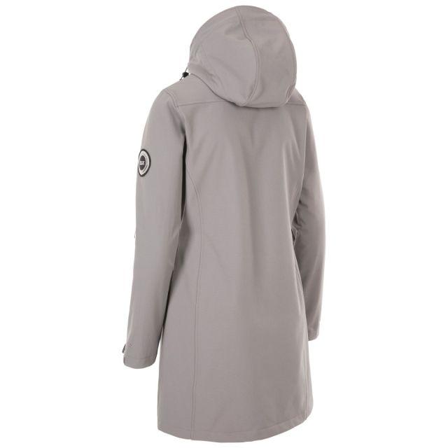 Trespass Women's DLX Softshell Jacket Maria Grey