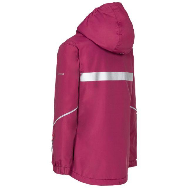 Trespass Kids Waterproof Jacket in Red Marilou