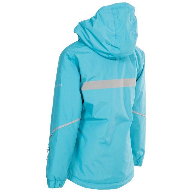 Trespass Kids Waterproof Jacket in Blue Marilou