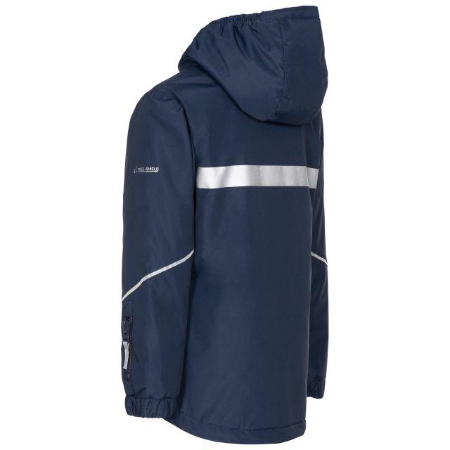 Trespass Kids Waterproof Jacket in Navy Marilou