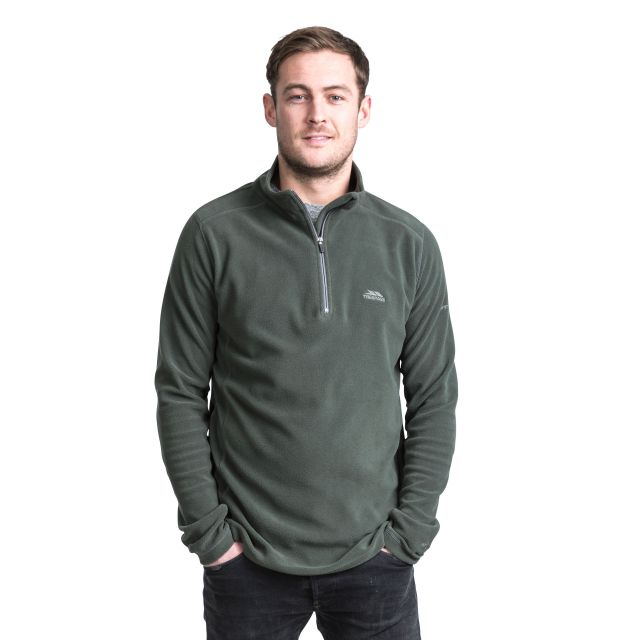 Maringa Men's 1/2 Zip Fleece in Khaki