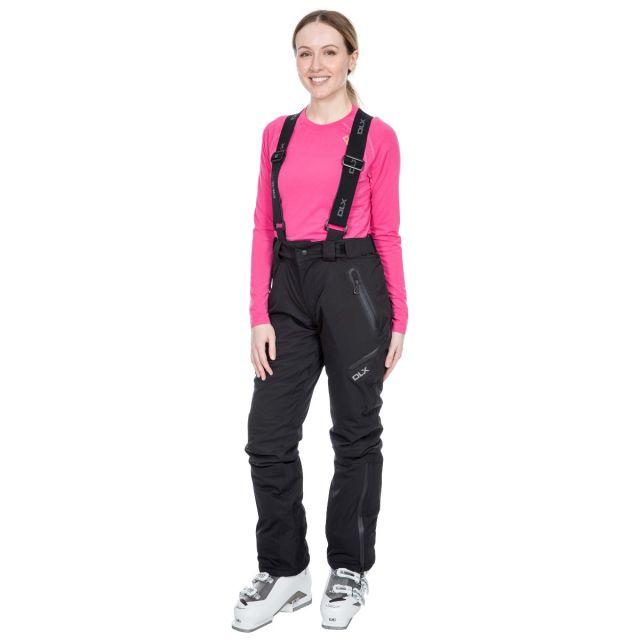 Marisol Women's DLX Waterproof Ski Trousers in Black