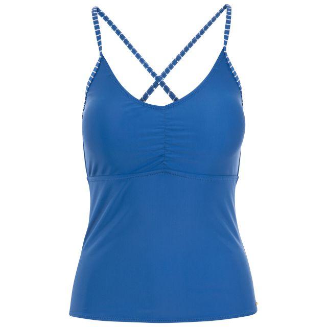 Martha Women's Tankini Top in Blue