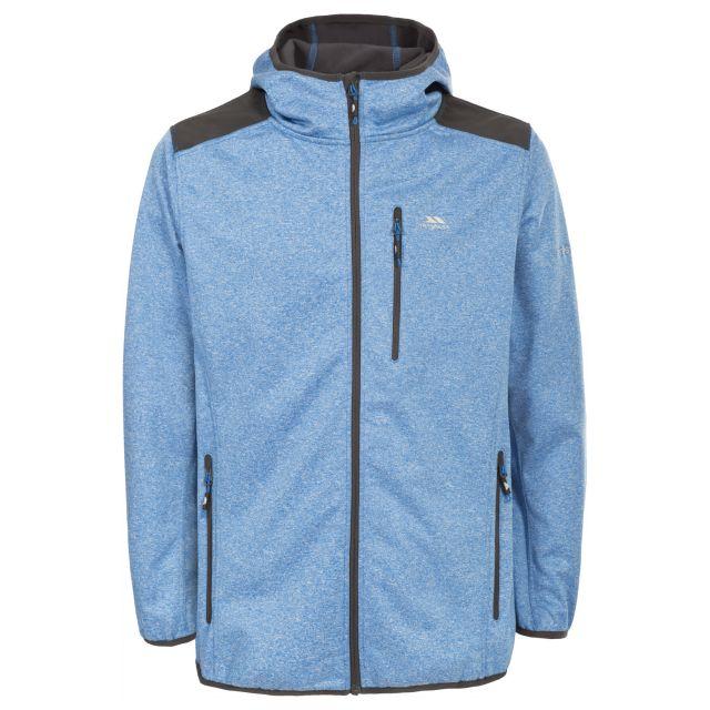 Mathew Men's Waterproof Softshell Jacket in Blue